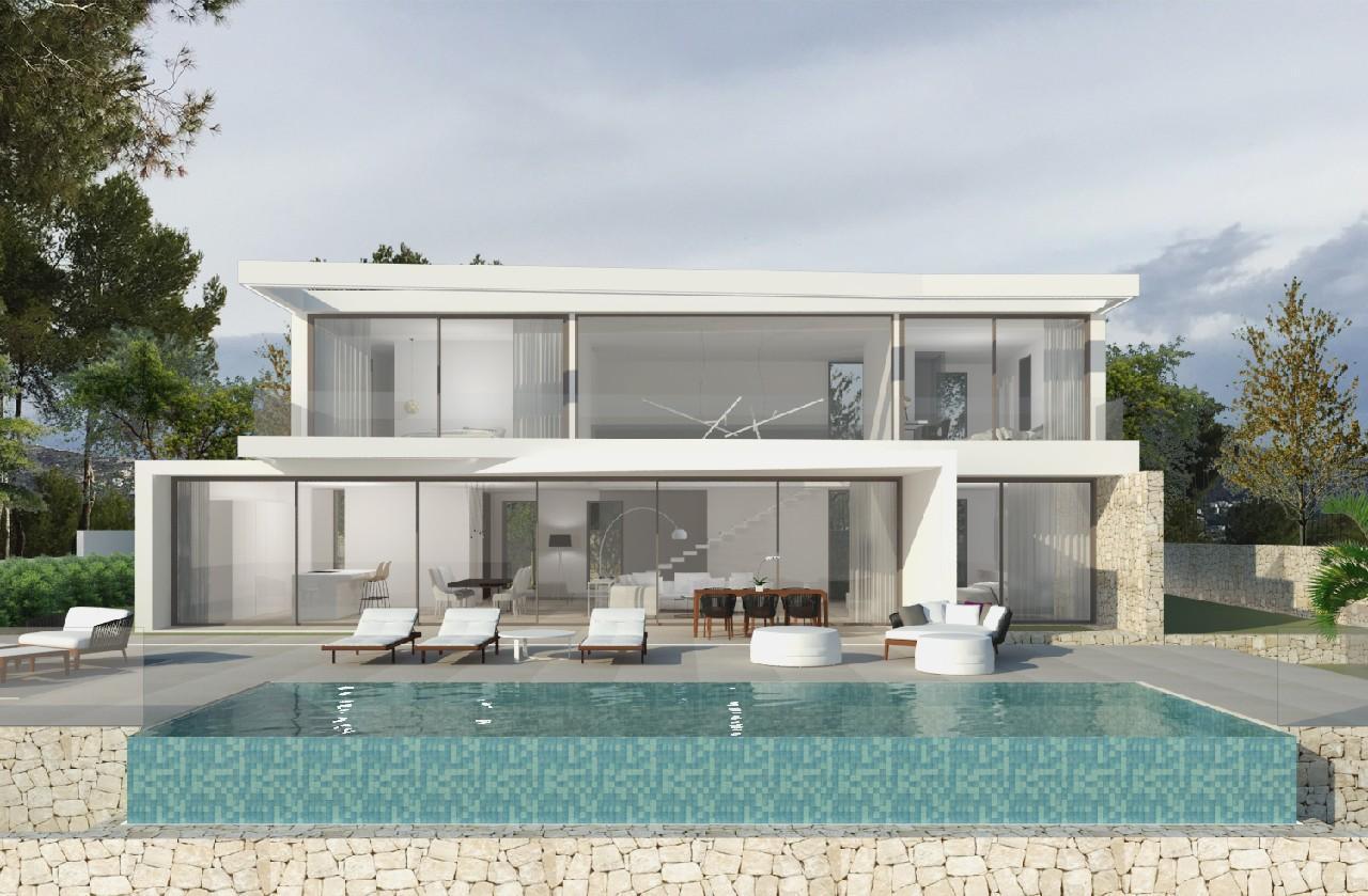 modern-villa en moraira · camarocha 950000€