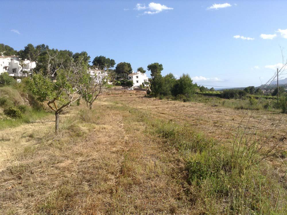parcela--terreno en moraira · pueblo-alcasar 220000€