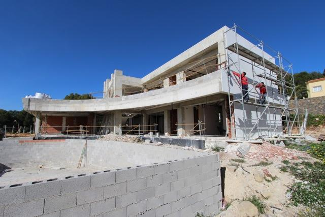 Photogallery - 6 - Build a villa in Moraira: villas for sale in Moraira