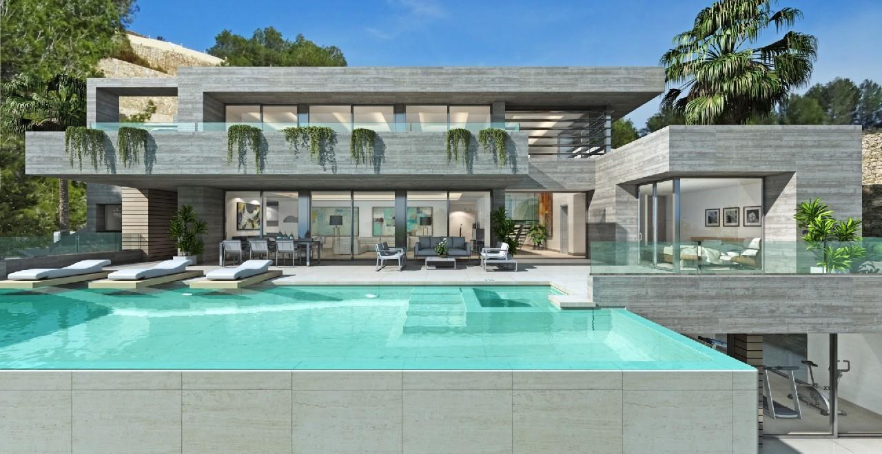 villa-moderna en benissa · raco-del-galeno 2040000€