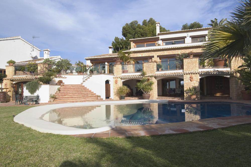 villa en moraira · pla-del-mar 3500000€