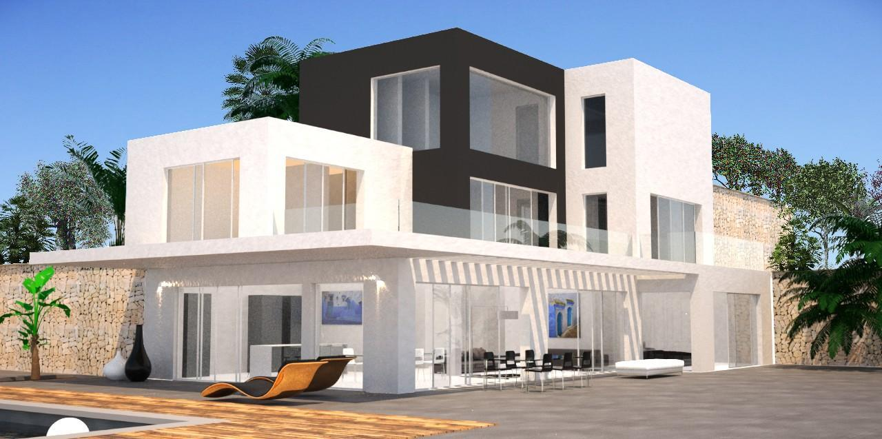 Photogallery - 3 - Build a villa in Moraira: villas for sale in Moraira