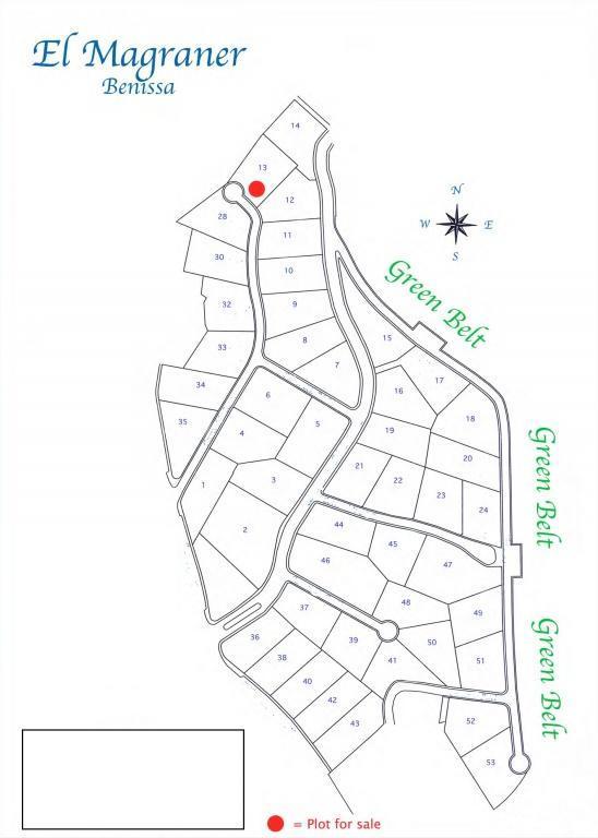 parcela--terreno en benissa · urb-magraner 180000€