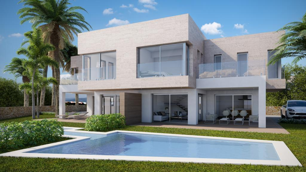 villa-moderna en moraira · pino-blanco 585000€