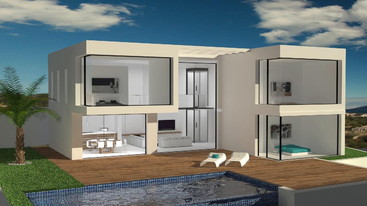 villa-moderna en benissa · tossal 1495000€