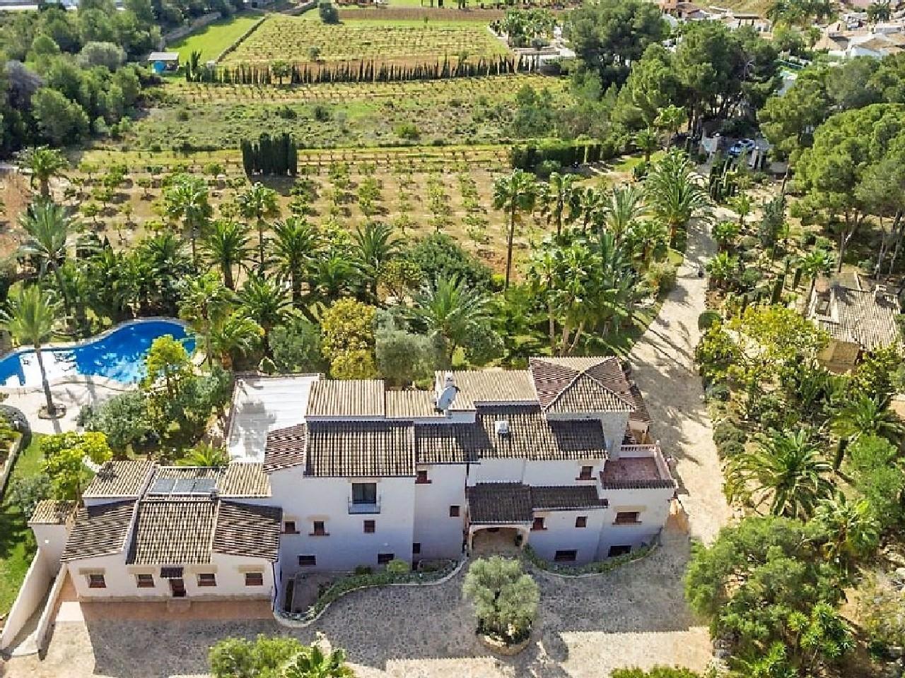 villa en moraira · la-sabatera 2200000€