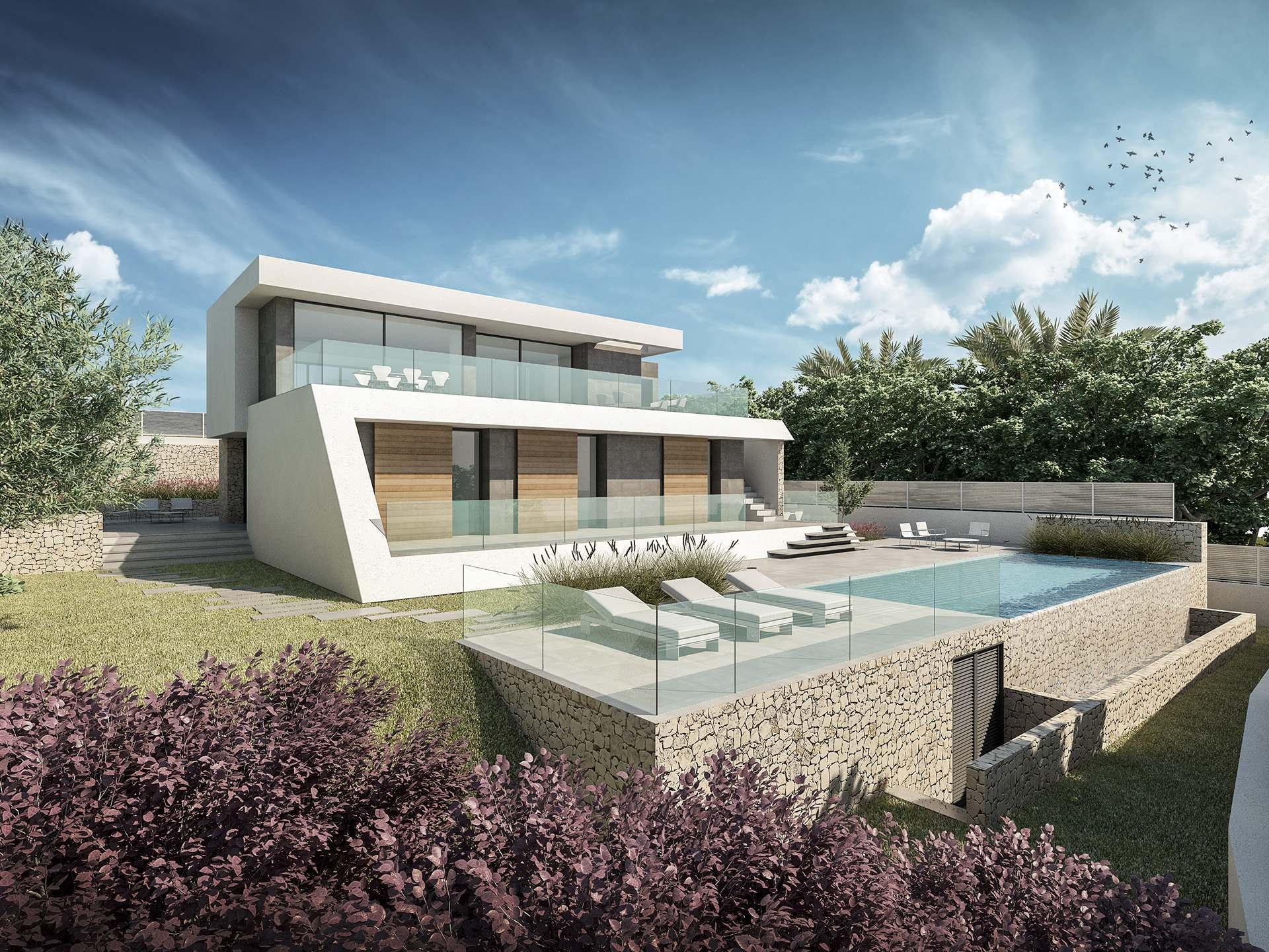 villa-moderna en moraira · camarocha 1280000€