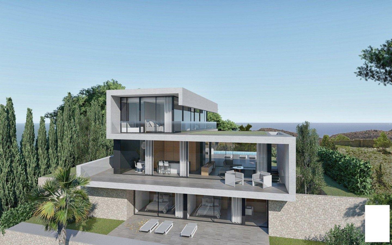 villa-moderna en moraira · el-portet 2350000€