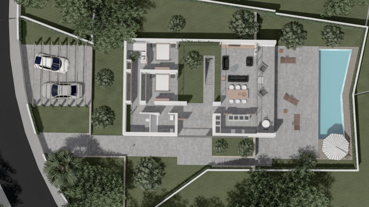 Galerie de photos - 9 - Build a villa in Moraira: villas for sale in Moraira