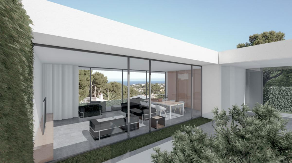 Galerie de photos - 3 - Build a villa in Moraira: villas for sale in Moraira