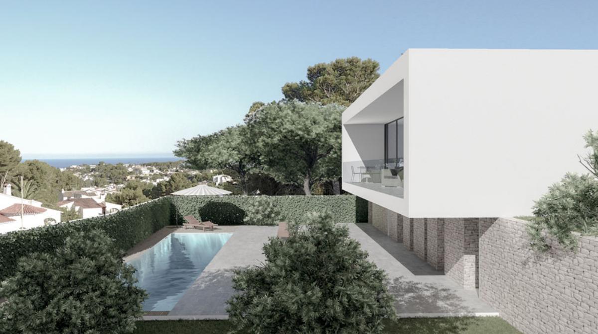 Galerie de photos - 4 - Build a villa in Moraira: villas for sale in Moraira