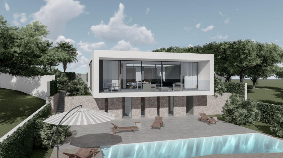 Galerie de photos - 2 - Build a villa in Moraira: villas for sale in Moraira