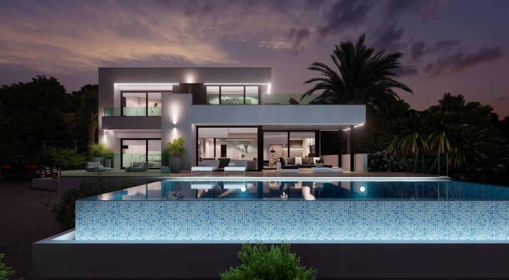 Fotogalerie - 1 - Build a villa in Moraira: villas for sale in Moraira