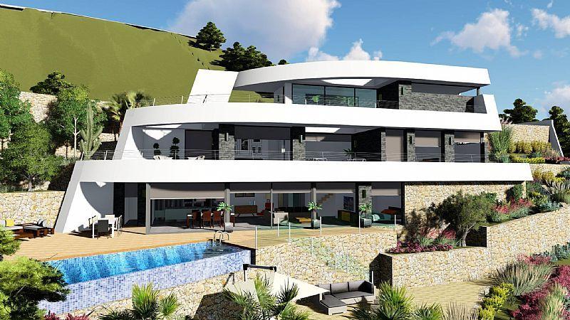 modern-villa en benissa · raco-del-galeno 1750000€