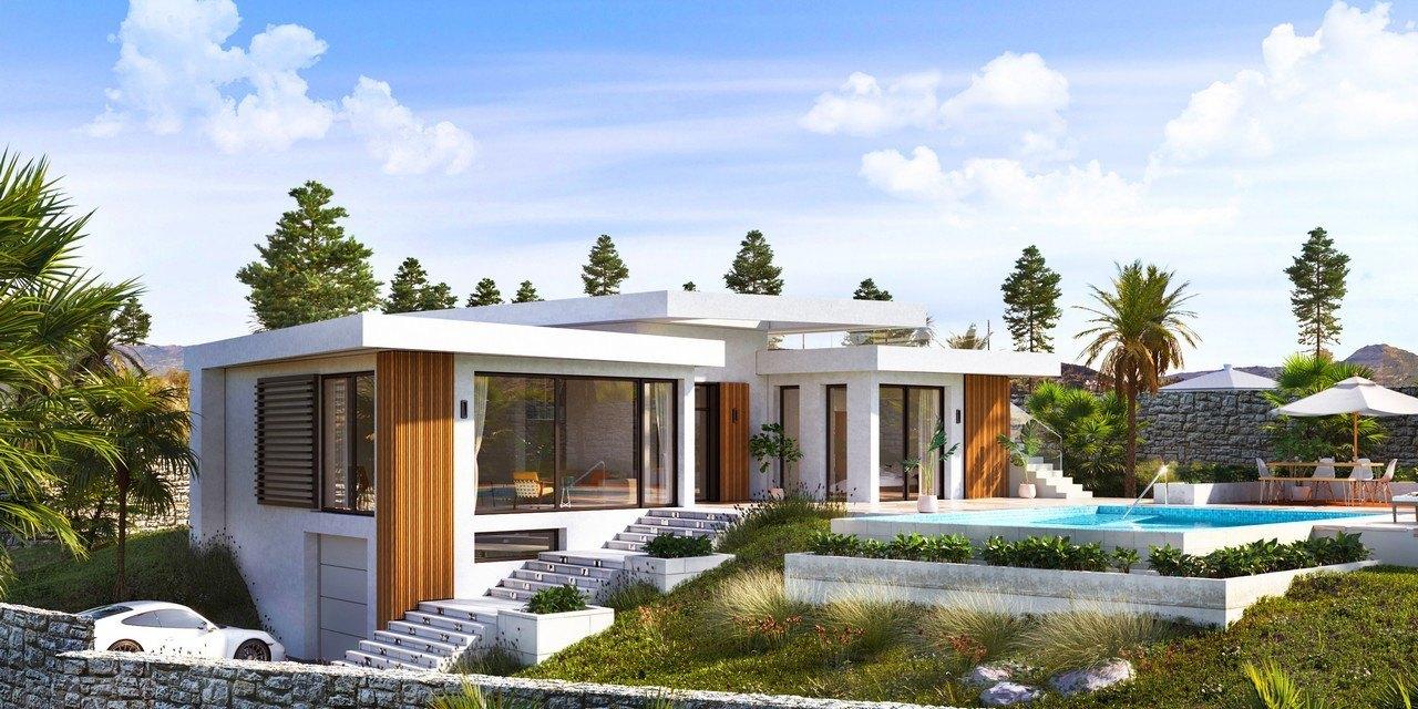 villa-moderna en moraira · benimeit 675000€
