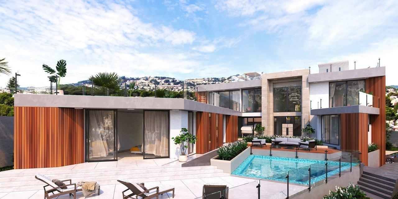 villa-moderna en moraira · moravit 1450000€