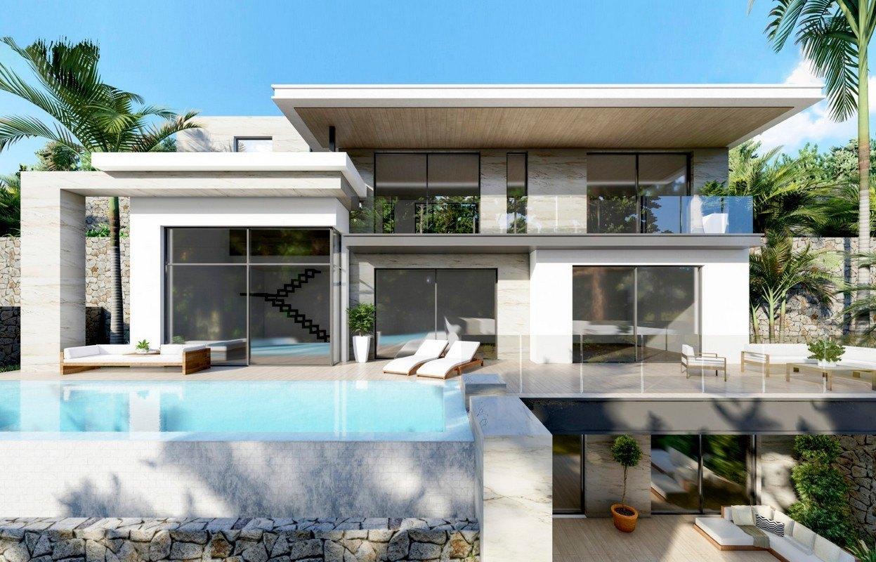 villa-moderna en moraira · benimeit 1390000€