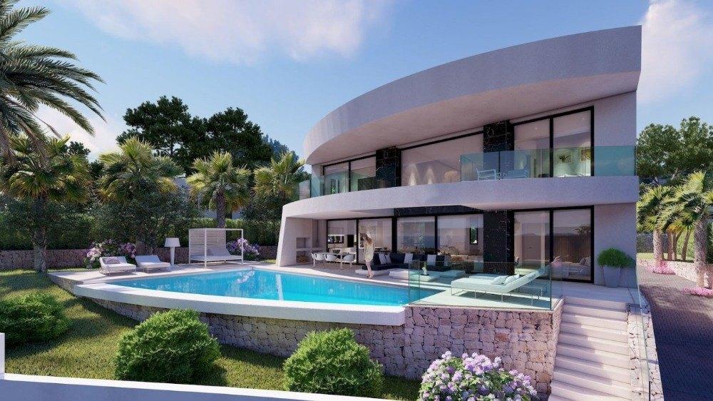 villa-moderna en moraira · benimeit 1150000€