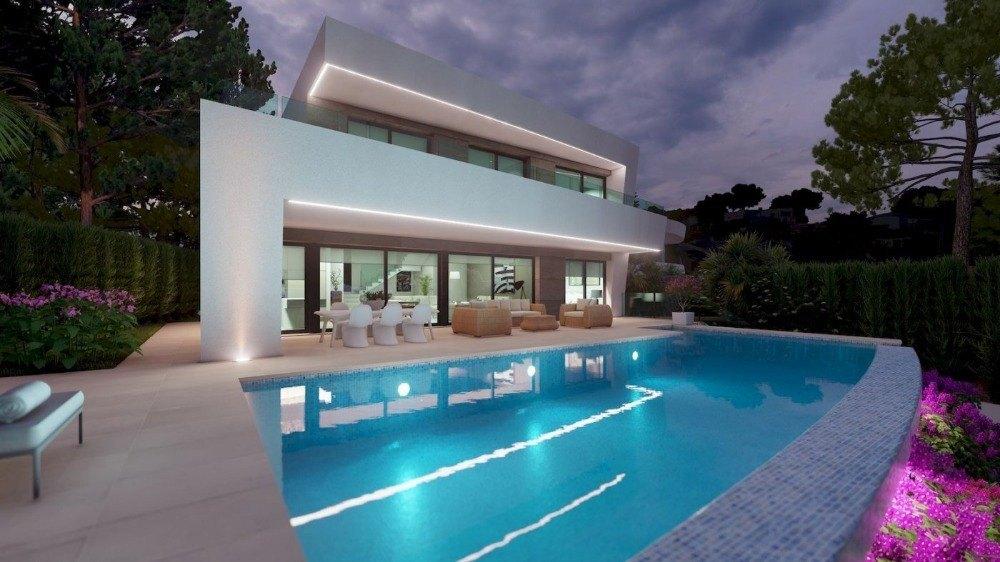villa-moderna en moraira · benimeit 1225000€