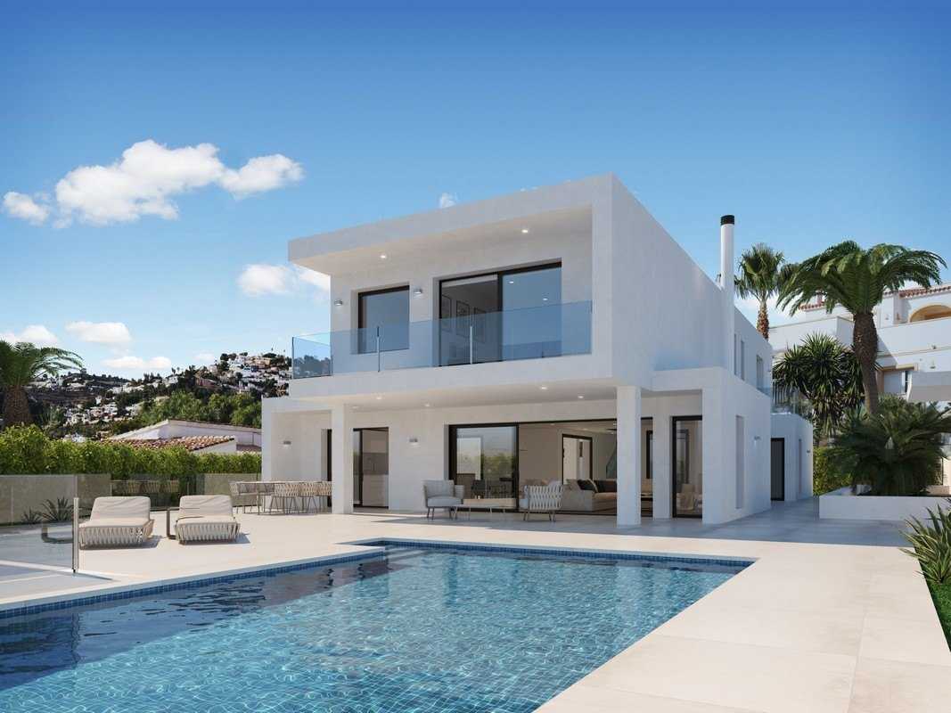 villa-moderna en moraira · la-sabatera 1490000€