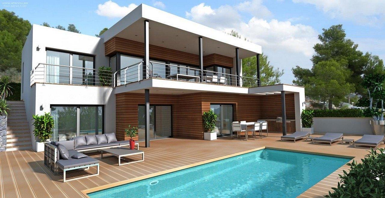 villa-moderna en moraira · benimeit 980000€