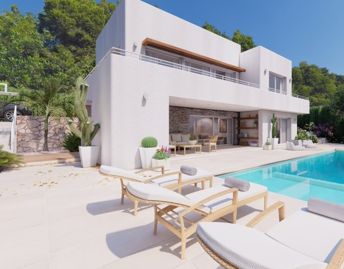 Fotogalerie - 1 - Build a villa in Moraira: villas for sale in Moraira