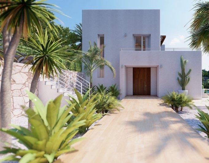 Fotogalerie - 2 - Build a villa in Moraira: villas for sale in Moraira