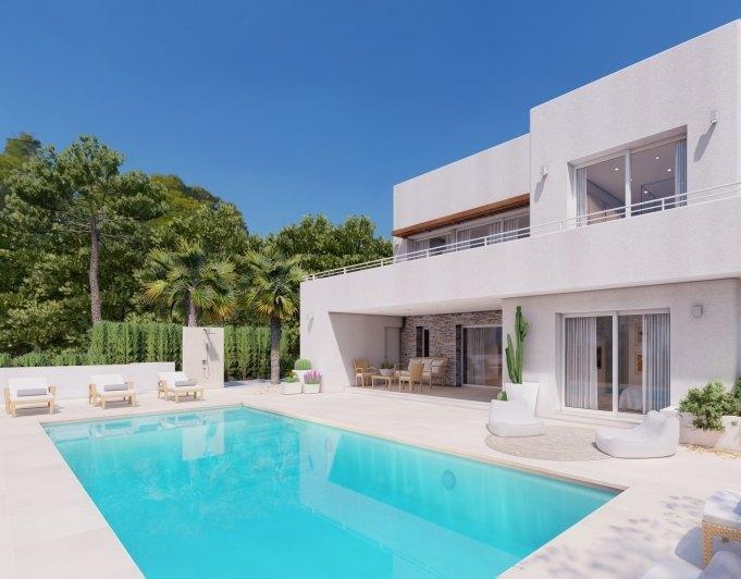 Fotogallerij - 5 - Build a villa in Moraira: villas for sale in Moraira