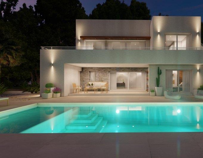 Fotogalerie - 3 - Build a villa in Moraira: villas for sale in Moraira