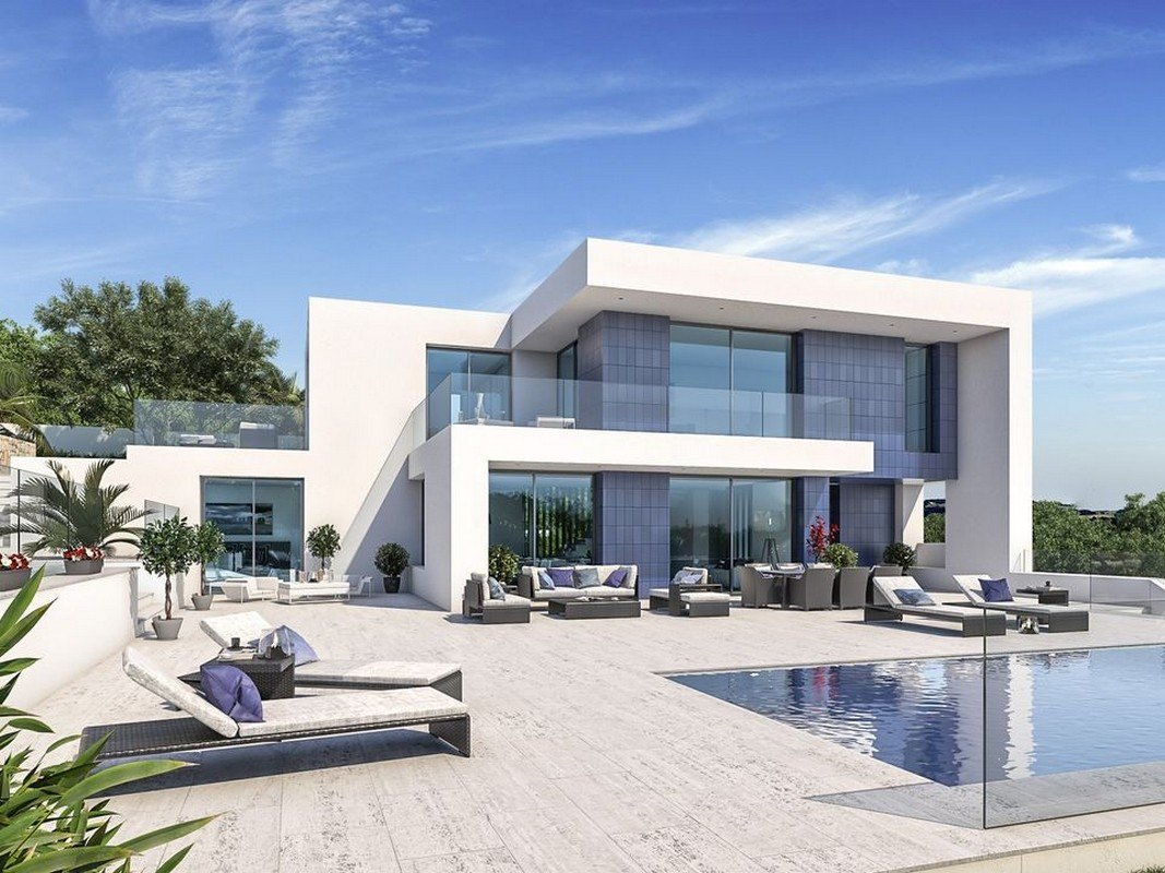 Photogallery - 2 - Build a villa in Moraira: villas for sale in Moraira