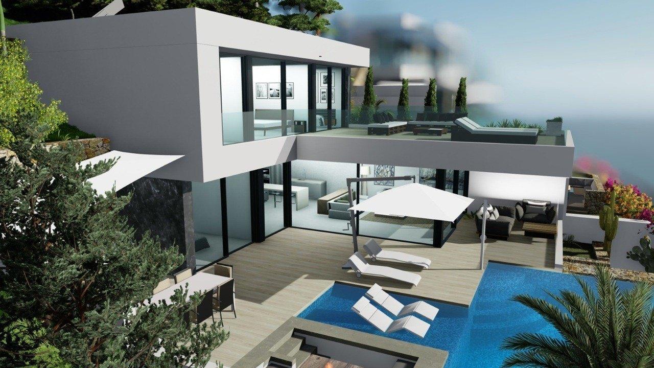 Photogallery - 1 - Build a villa in Moraira: villas for sale in Moraira