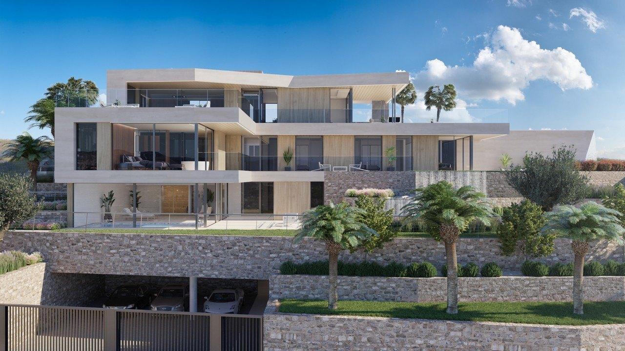 villa-moderna en moraira · el-portet 3680000€