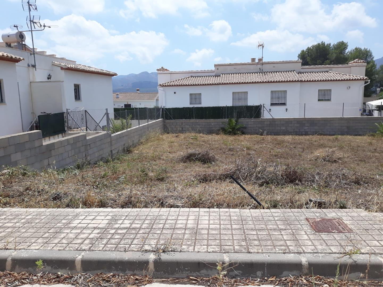 parcela-urbana en alcalali · urbanizacion 75000€