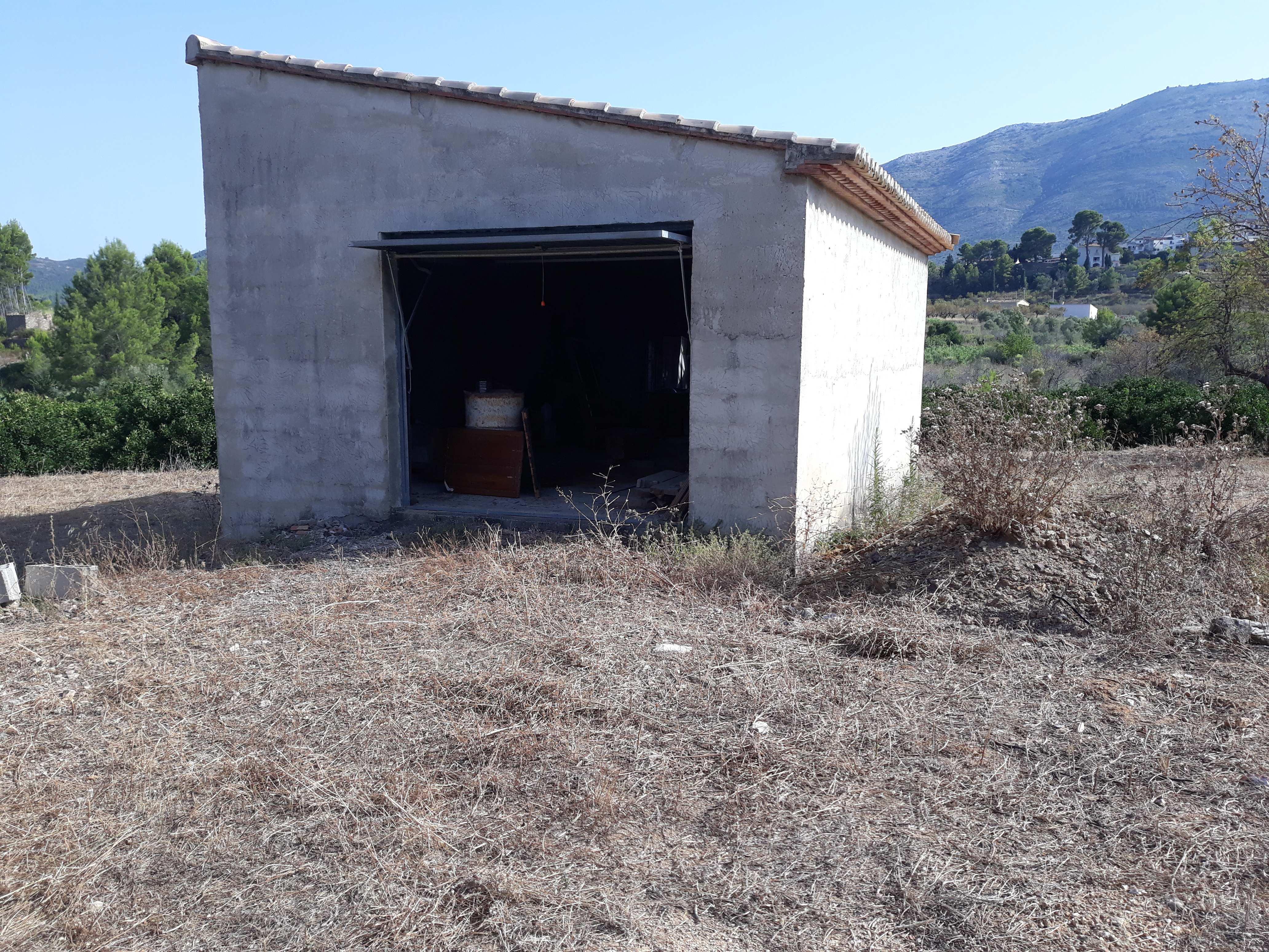 villa en parcent · campo 45000€