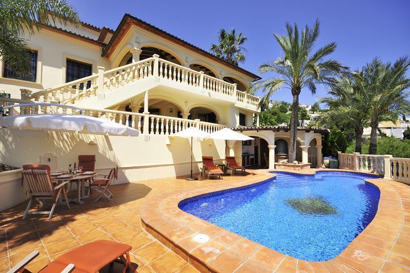 villa en moraira · benimeit 1200000€