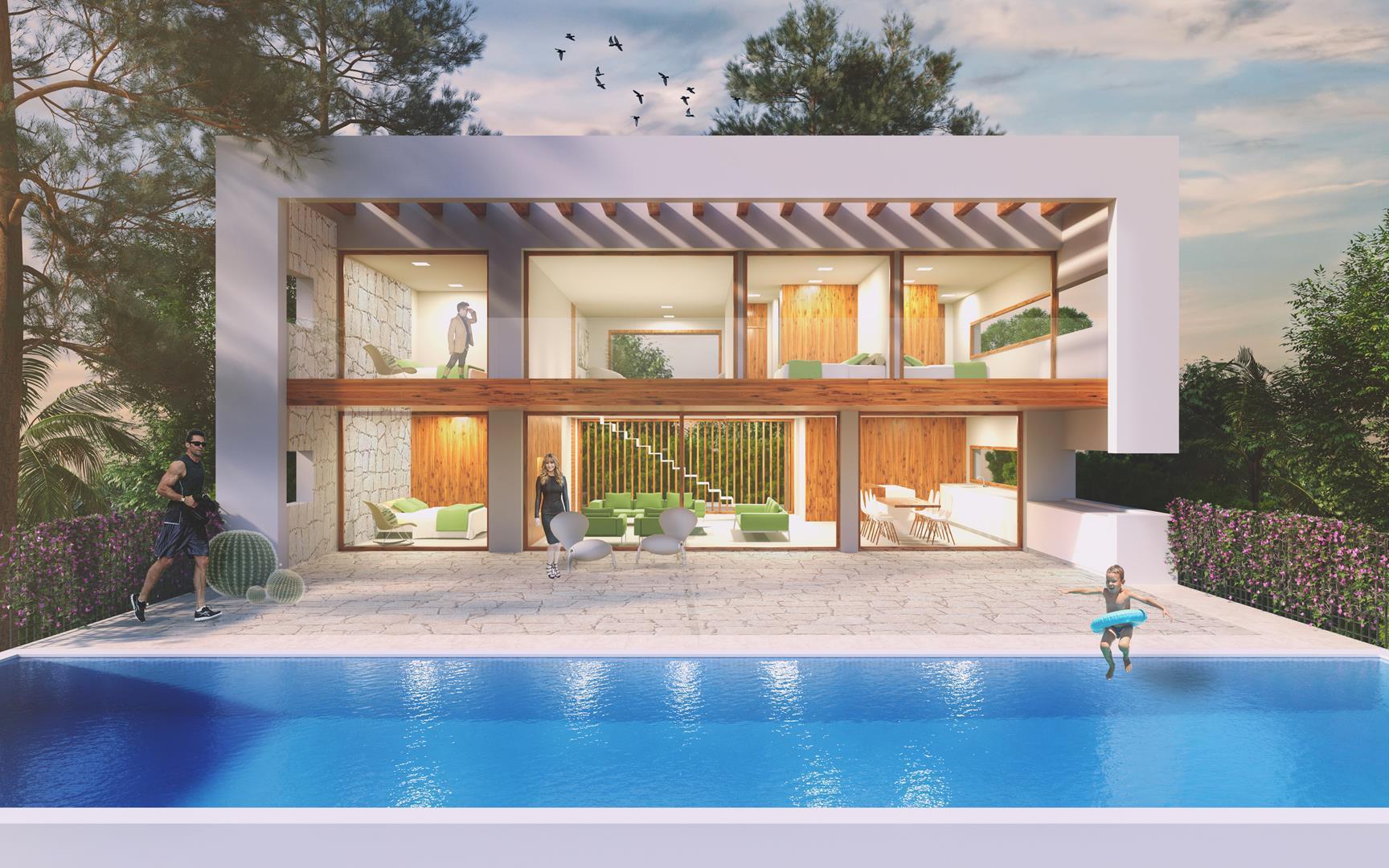 villa en moraira-teulada · urbanizacion-residencial 1380000€