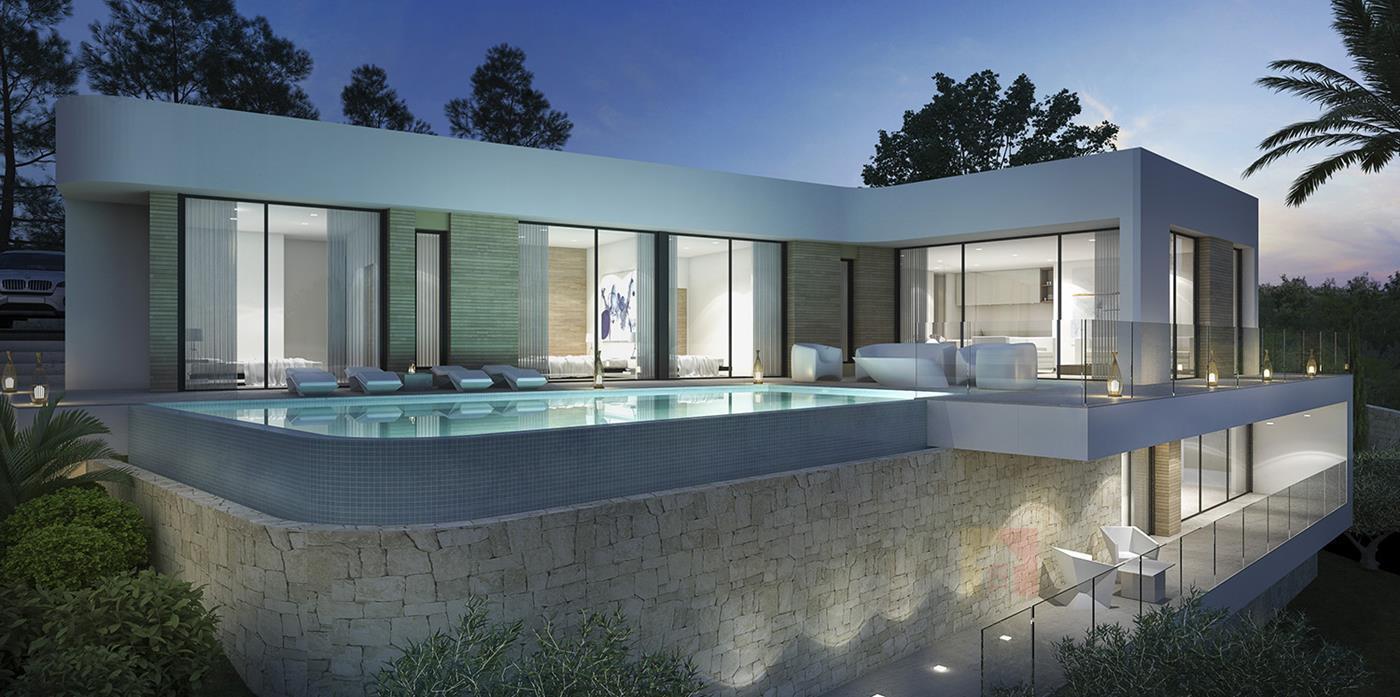 villa en moraira · solpark 755000€
