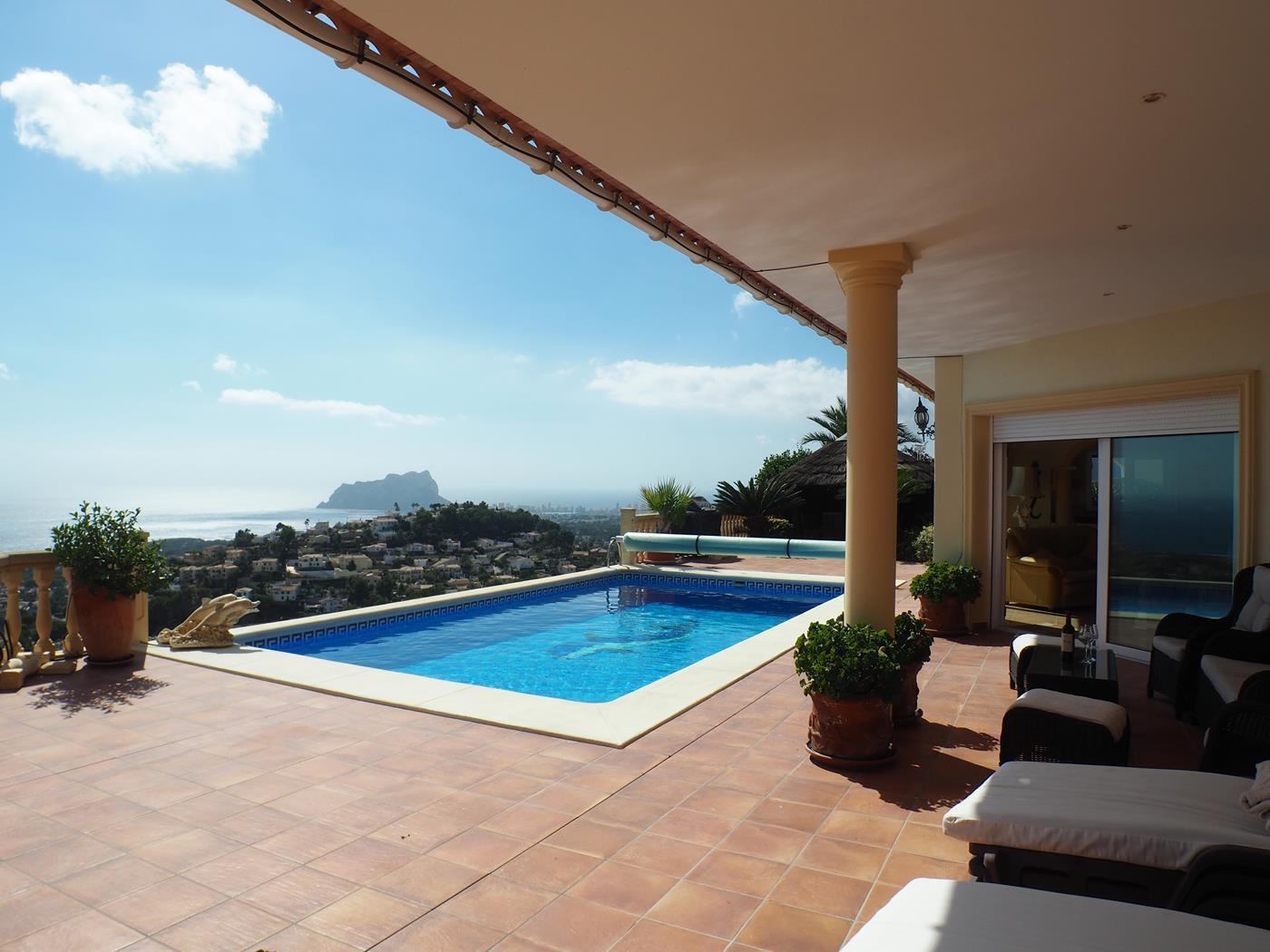 villa en moraira-teulada · benimeit 1122000€
