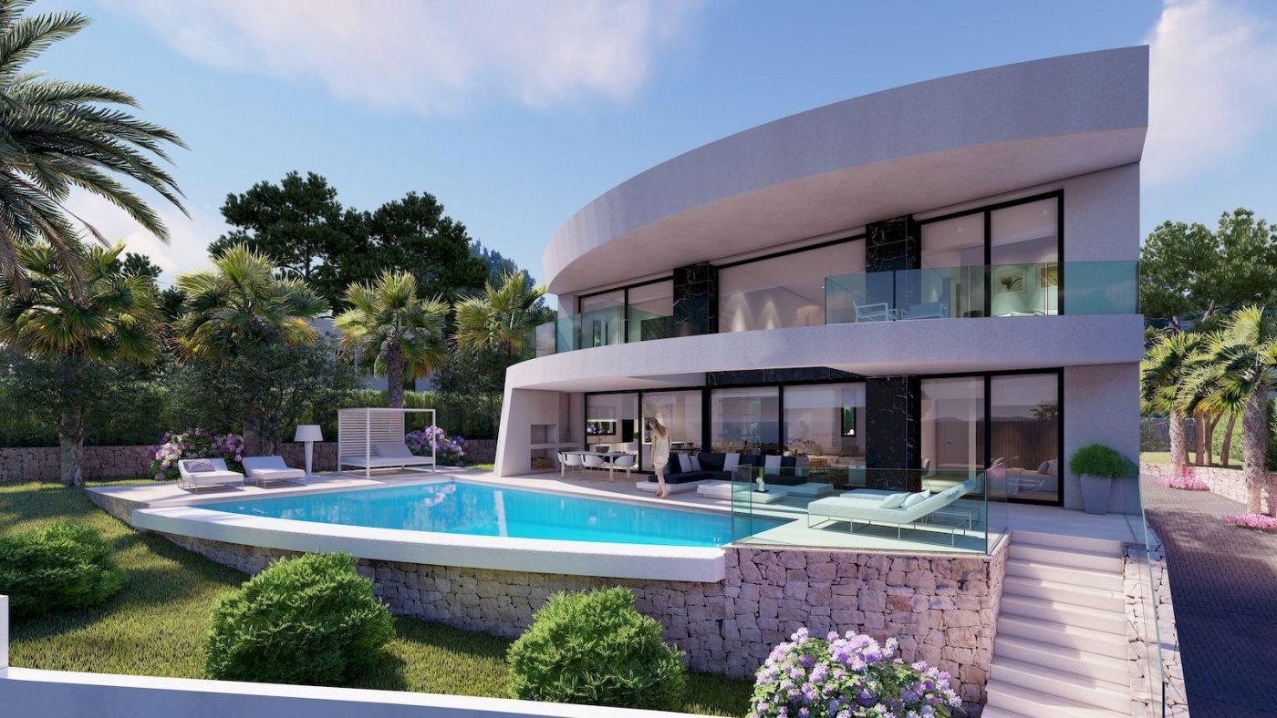 new-construction en moraira · benimeit 1100000€
