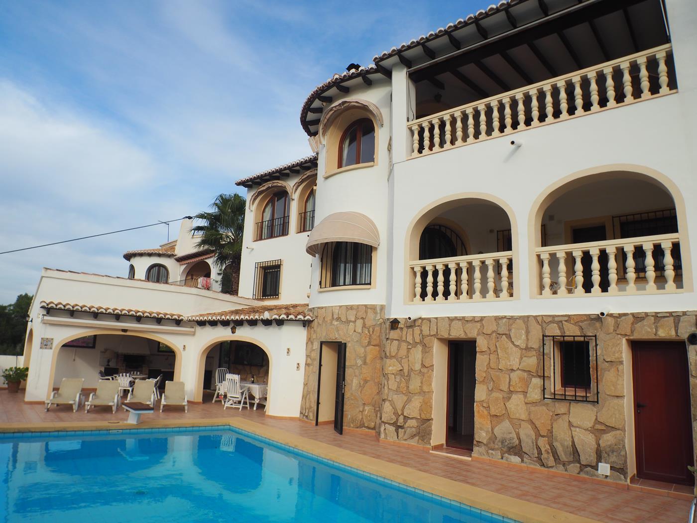villa en moraira · alcazar 449000€