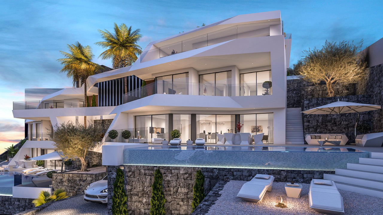 villa en altea · urbanizacion-residencial 1850000€