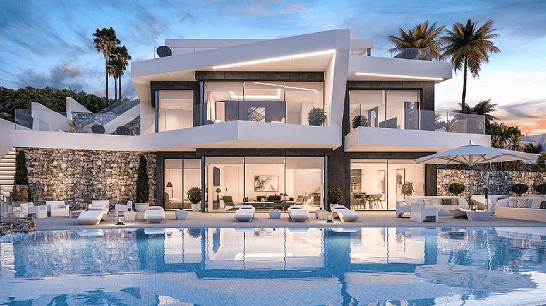 villa en benissa · la-fustera 1600000€