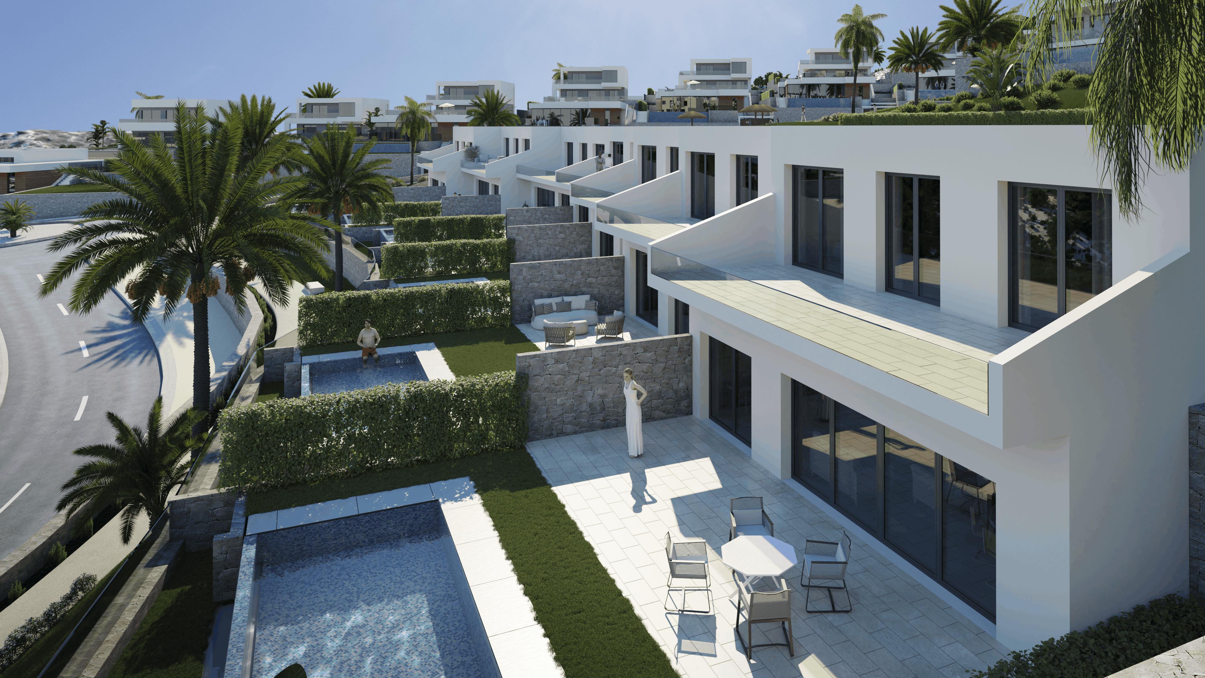 reihenhaus en benidorm ·  450000€