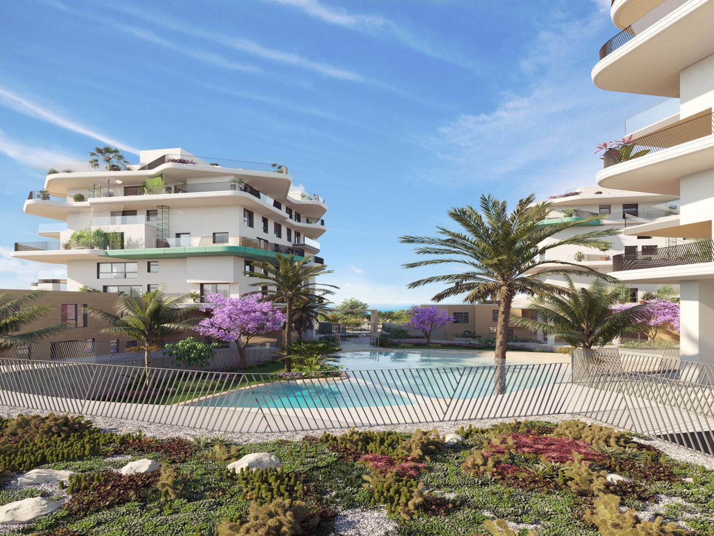 penthouse en villajoyosa · beach 492500€
