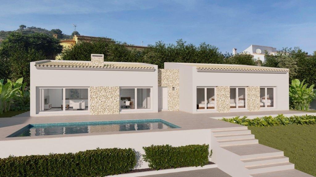 villa en moraira ·  750000€