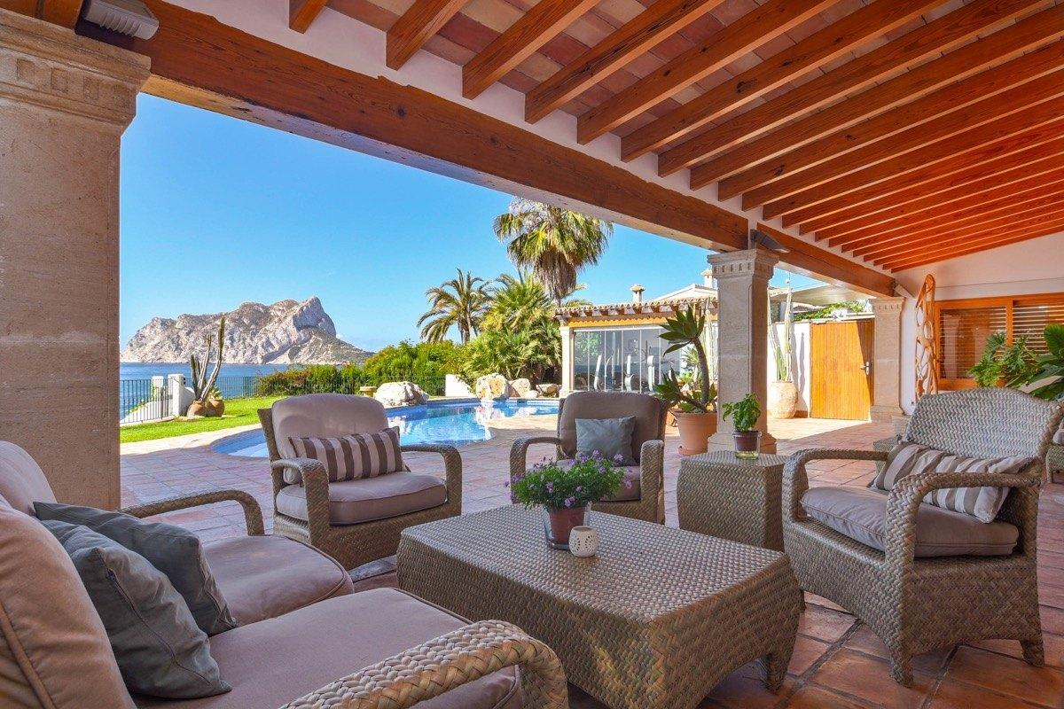 villa en benissa · les-bassetes 3495000€