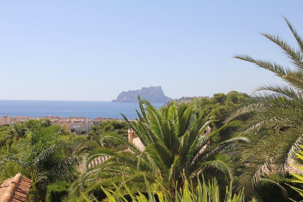 villa en moraira · costera-del-mar 890000€