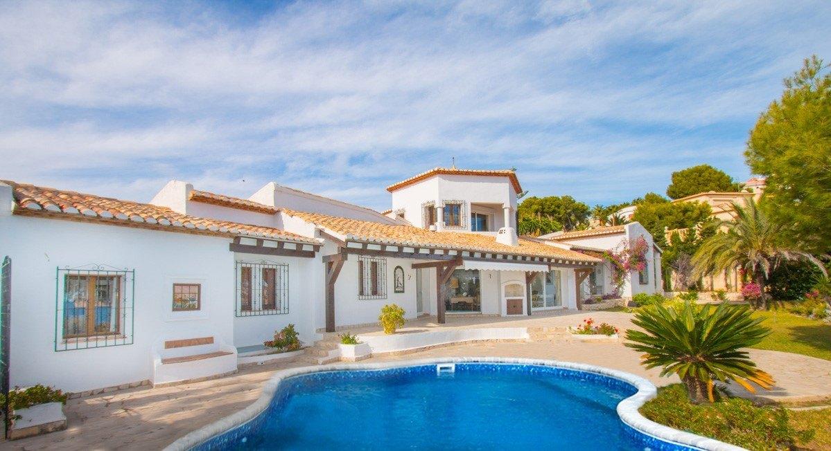 villa en moraira · cap-blanc 1700000€
