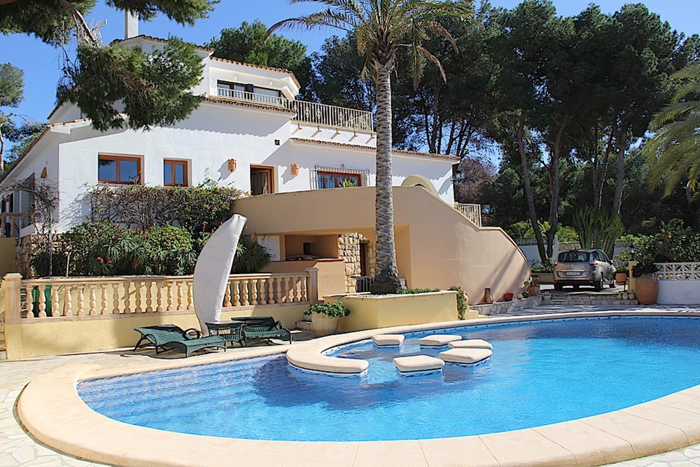 villa en moraira · costera-del-mar 1095000€