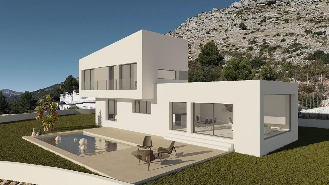 villa en benigembla · vernissa-park 420000€
